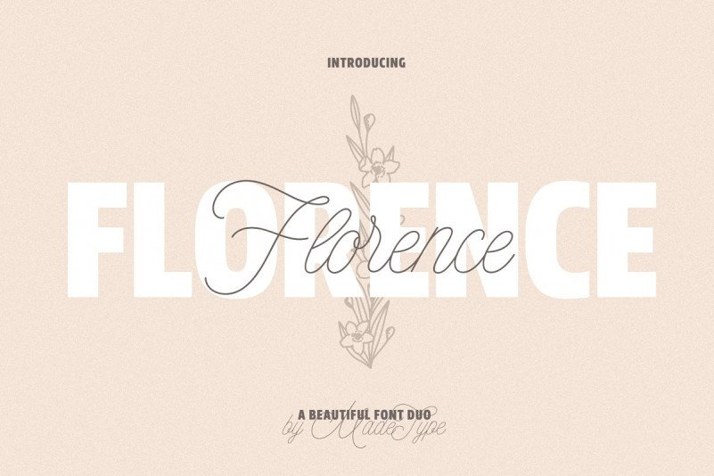 made-florence-font-duo