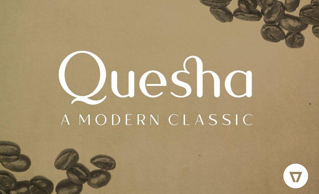 quesha-typeface