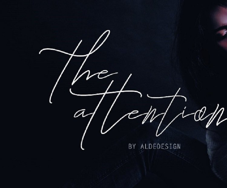 the-attention-signature-font