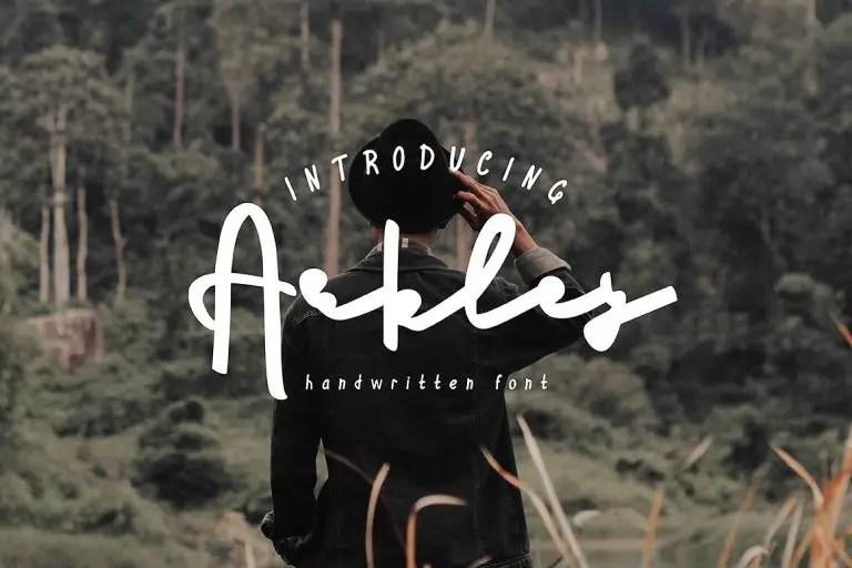 arkley-script-font-768x512