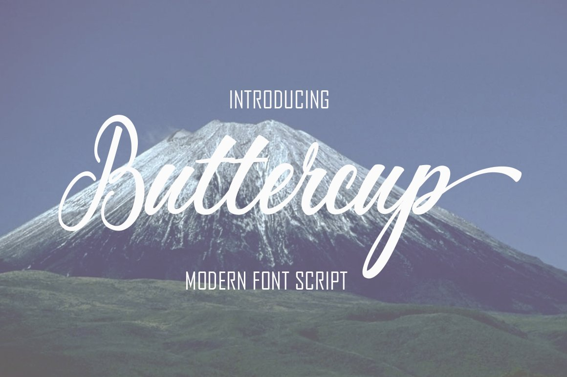 buttercup-calligraphy-font