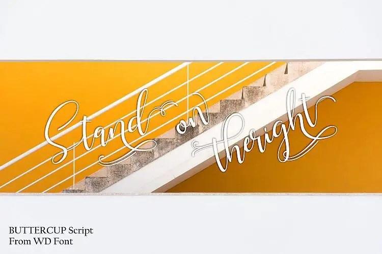 buttercup-script-font-3
