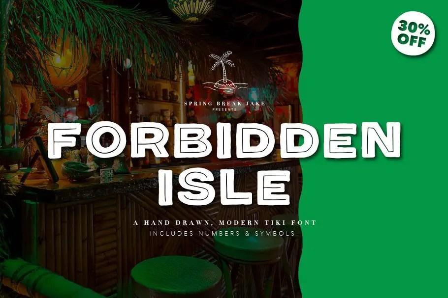 forbidden-isle-tiki-font