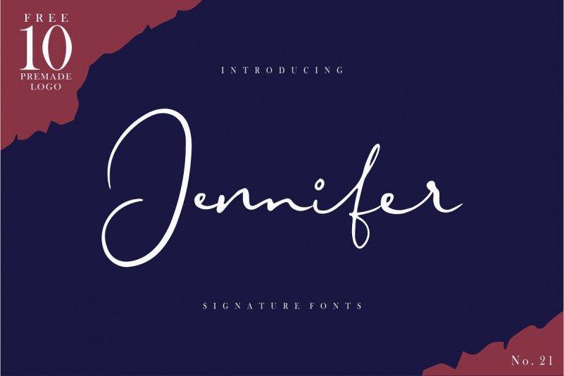 jennifer-signature-font