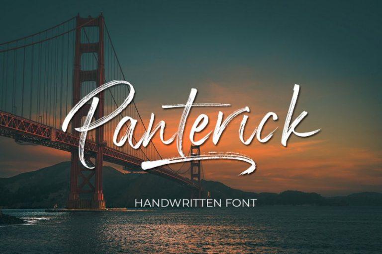 panterick-brush-font-768x512