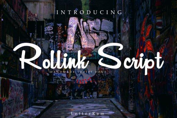 rollink-script-font