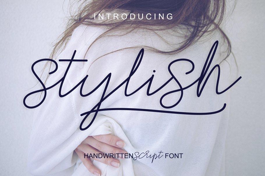 stylish-script-font