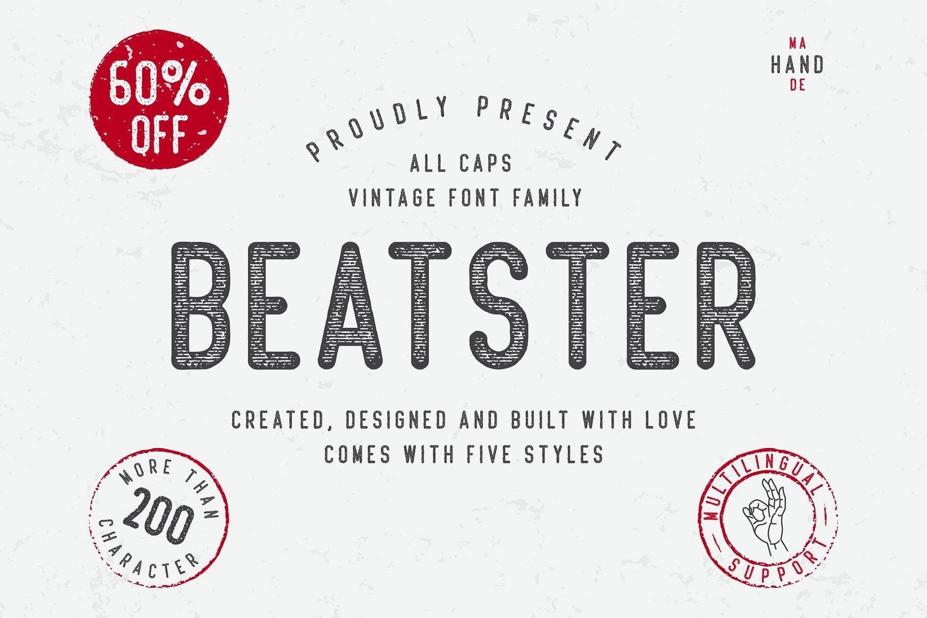 beatster-typeface
