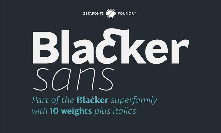 blacker-sans-font-family