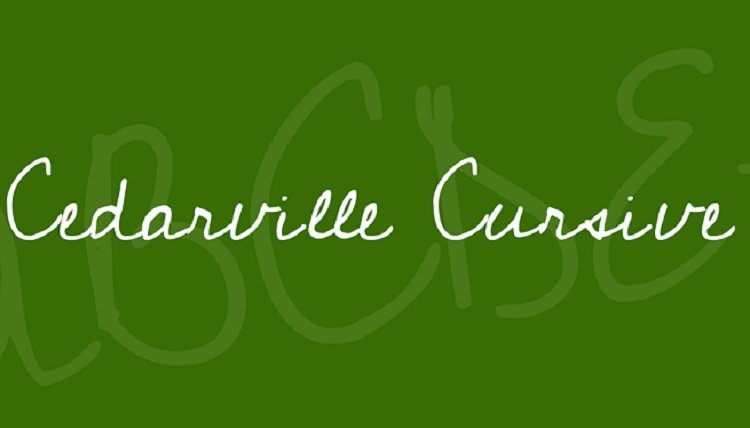 cedarville-cursive-font-1-big