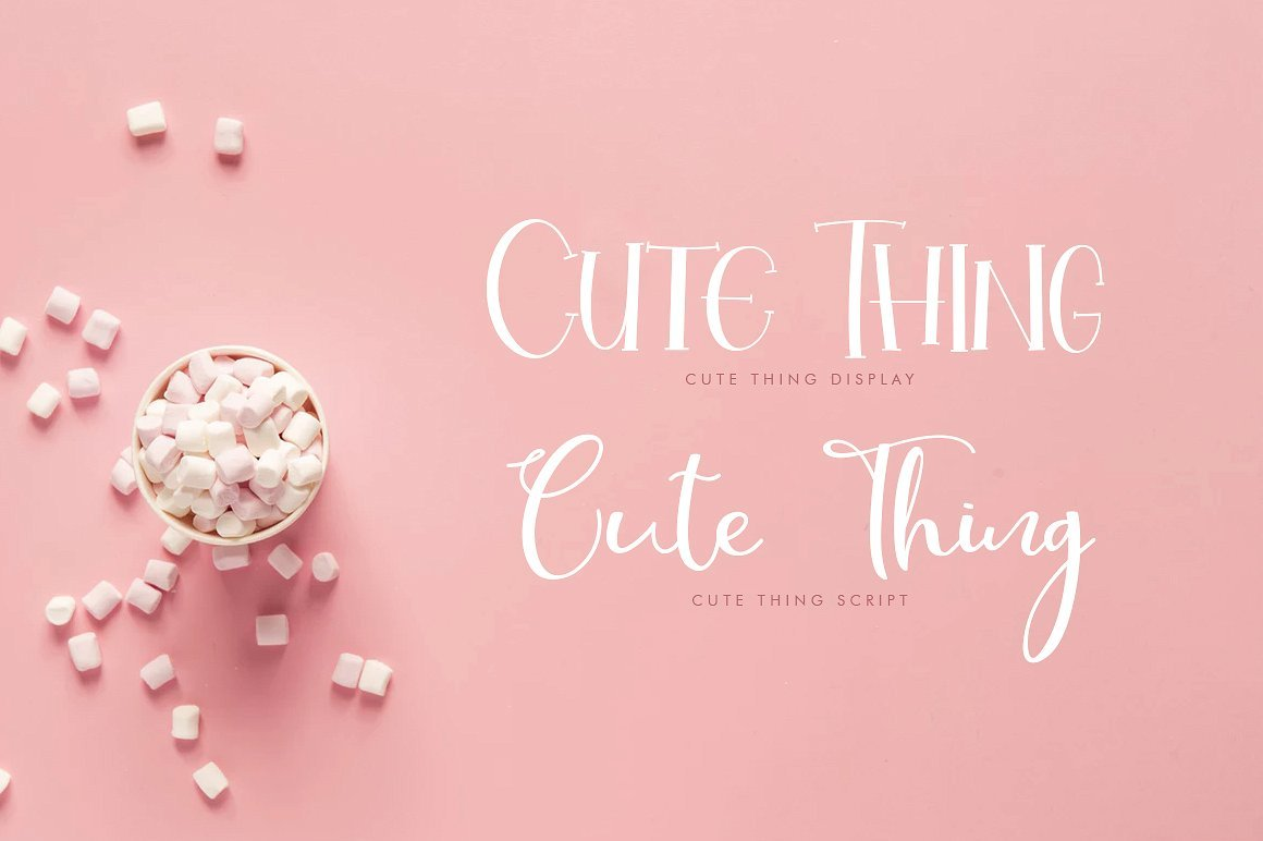 cute-thing-font-duo