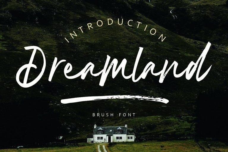 dreamland-brush-font-768x512