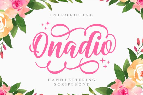 onadio-script-font