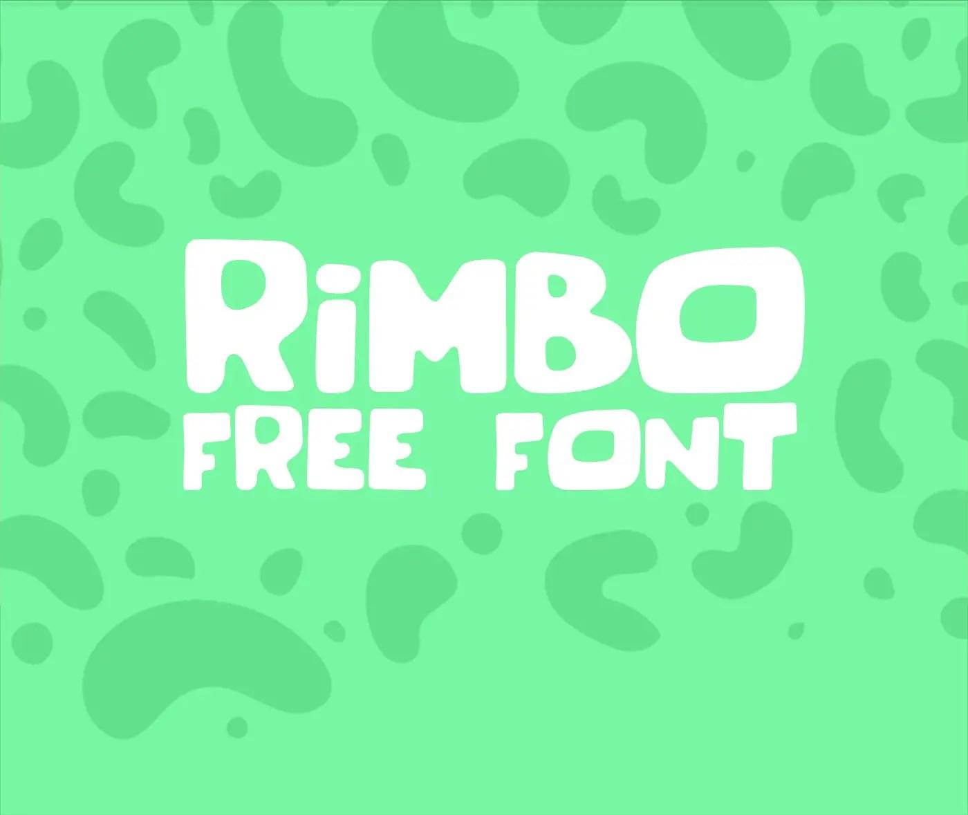rimbo-font