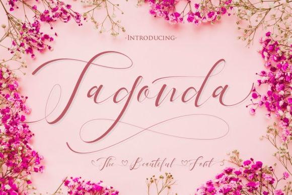 tagonda-calligraphy-font