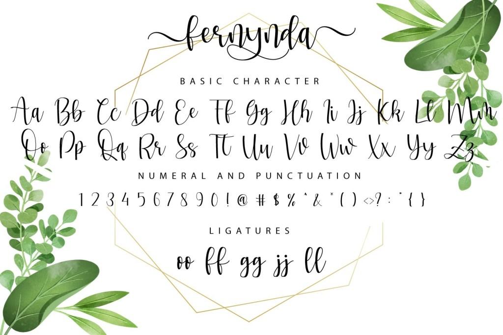 Fernynda Script Font