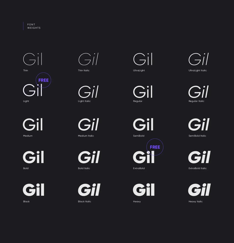 gilroy-typefamily2