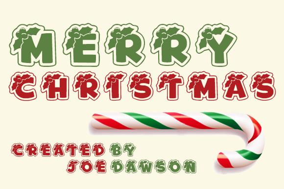 Download Merry Christmas Holiday Font Fontsme Com
