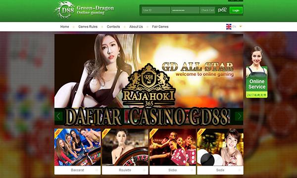 Daftar Casino Online GD88