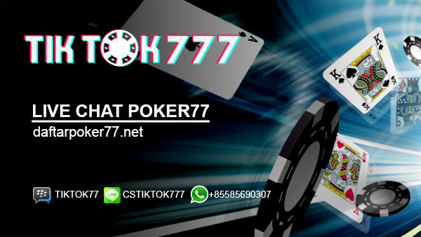 Live Chat Poker77
