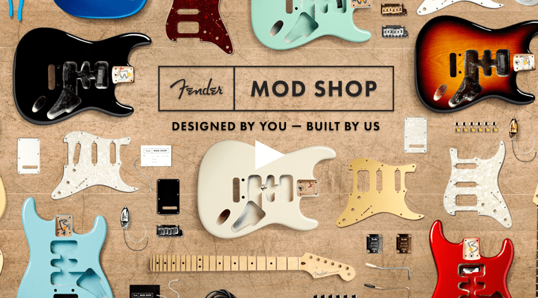 Fender Mod Shop: Exactly What We Wanted… Sort of.