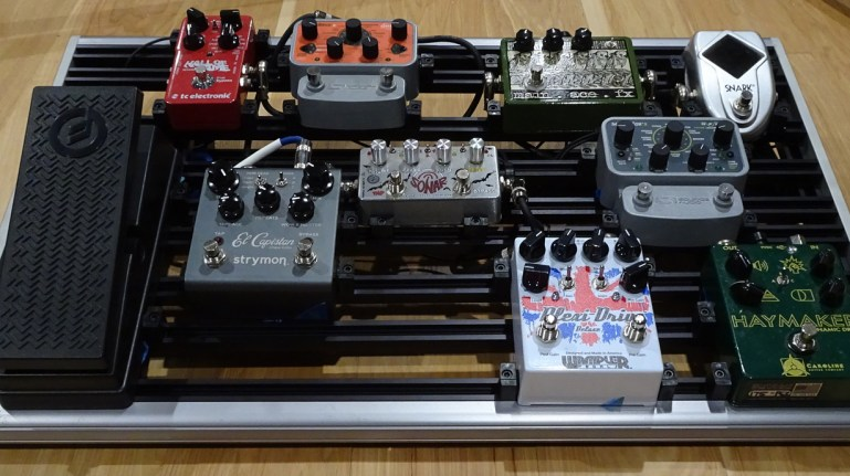 Reviewed: Monark Pedalboards Mainframe