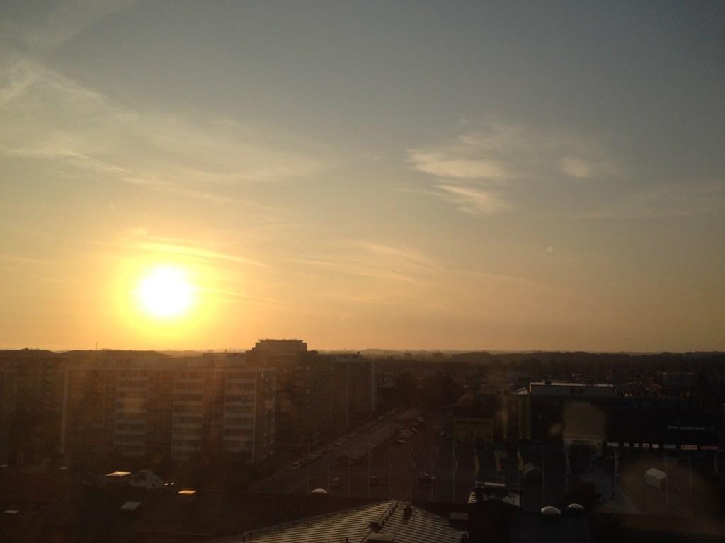 Sunrise in Malmö <3