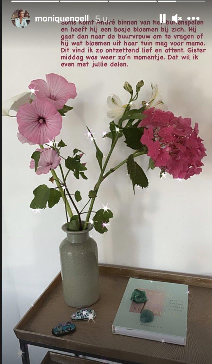 bloemen van André voor Monique