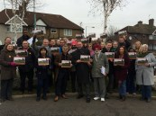Sadiq Khan campaigns in River Ward GE2015