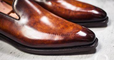 皮鞋 Septième Largeur 手工刷染Loafers實穿