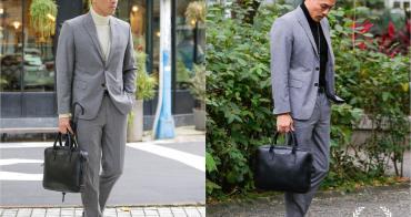 穿搭 MUJI無印良品 男生高領毛衣+西裝 簡約有型的正裝搭配單品