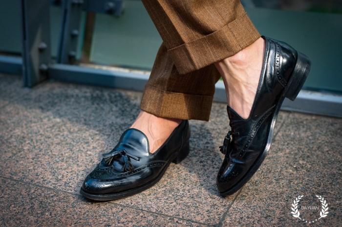 皮鞋|7種正式+休閒 樂福鞋穿搭 BURBERRY Tassel Loafers