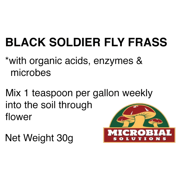 Insect Frass, Black Soldier Fly, humic acid, fulvic acid, enzymes, microbes