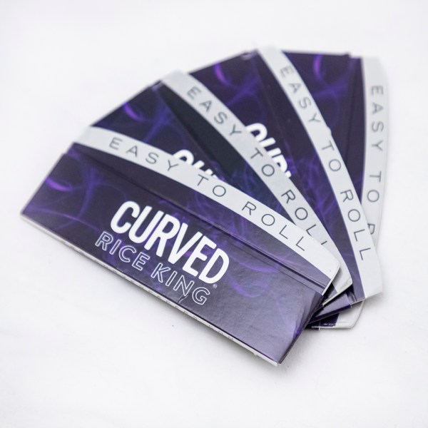 Curved Rolling Paper Rice King