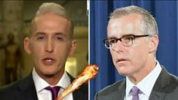 (Feature photo by screen capture, Dagger News. Trey Gowdy and Andrew McCabe