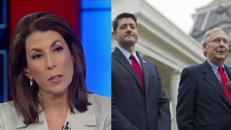 Photo credit to Dagger News screen capture compilation. Tammy Bruce Uncovers The Republican Establishment's Devious Plan.