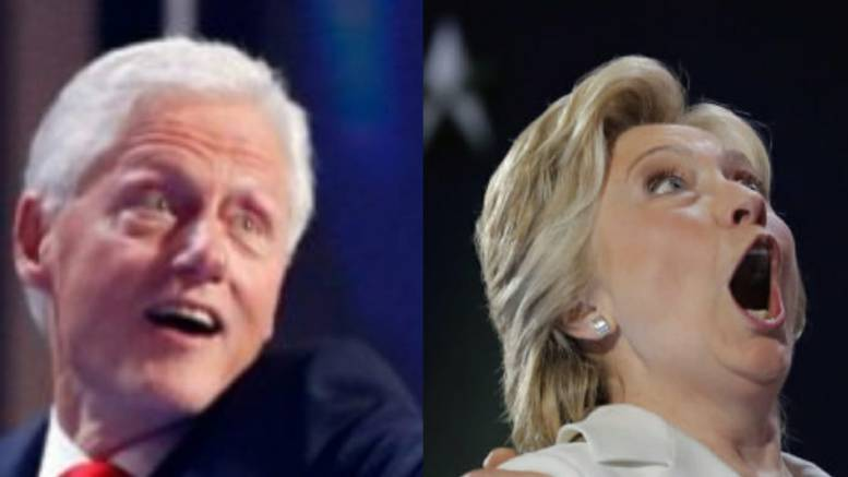 """Feature photo credit to Dagger News compilation. The net closes in as the probe widens to reopen the """"pay to play"""" Clinton scandal."""