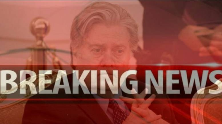 Feature Photo credit to Dagger News. Steven K Bannon leaves Brietbart.