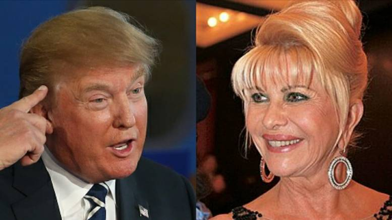 Ivana tells her perspective about POTUS's mental health from Europe. Feature photo by Image Flip/ Wikipedia/Dagger News Compilation.