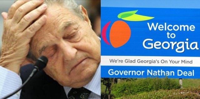 Georgia introduces Bill to protect against Voter Fraud much to Soros chagrin. Image credit to screen capture and Dagger News.