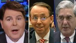 Gregg Jarrett calls for resignation of Mueller and Rosenstein. Feature photo courtesy to screen captures and compilation by Dagger News.