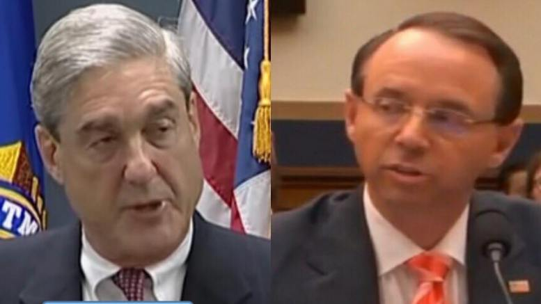 Ellis finds Rosensteins mandate to Mueller gang legally broad and motions against Manafort for 2013 activity in indictments. Image credit to US4Trump screen captures.