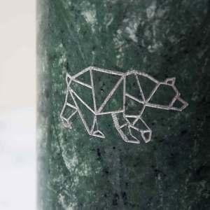 urn met beer