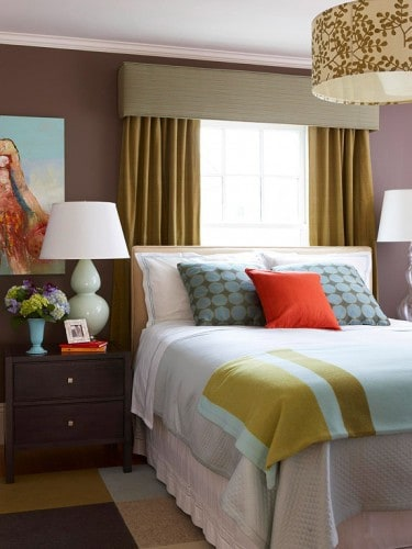 stunning hot pink bedroom | My Dream Home: 12 Stunning Bedroom Paint Color Ideas ...