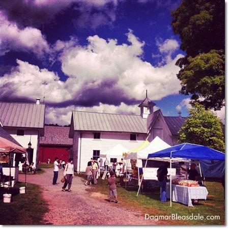 farmers market at Muscoot Farm in Katonah, NY