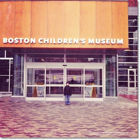 Boston Children's Museum fun, MA