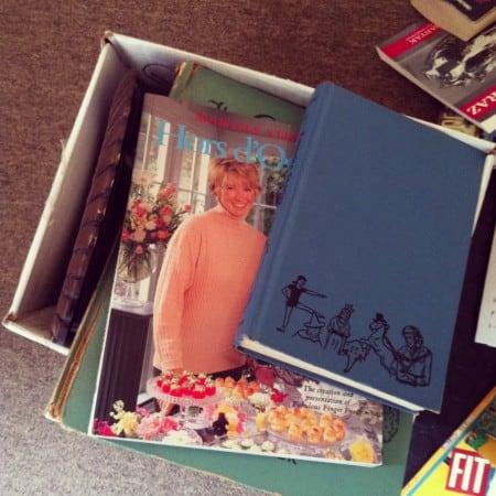 vintage Martha Stewart hors d'oeuvres book