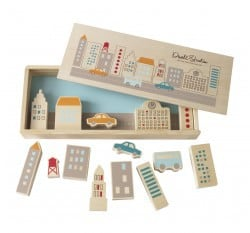 DwellStudio skyline wooden play set