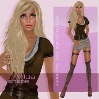 DagMar Shapes Vilda
