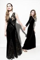mod: Monika Chwałowska & Małgorzata Baran, mua: Joanna Kida, hair: Kateryna Pasko, styl: Magdalena Madej, dress: DAGNEZ